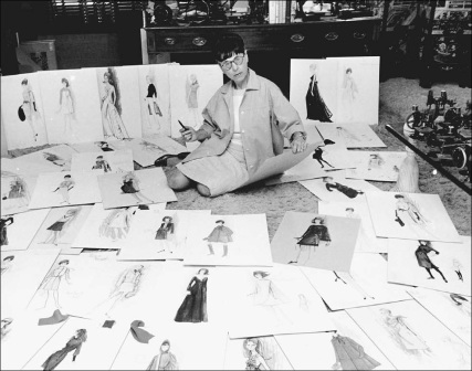 Reference:  http://angelasancartier.net/wp-content/uploads/Edith-Head-surrounded-by-some-of-her-fashion-designs.jpg